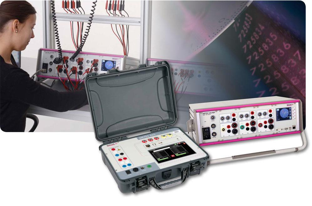 Prueba a medidores eléctricos - METES